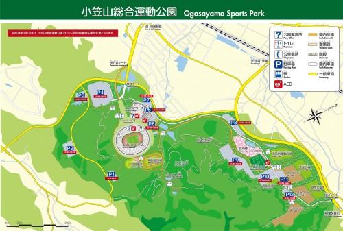 新エコパ公園マップ(駐車場変更 補足あり)