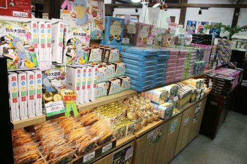 オリジナルお菓子コーナー